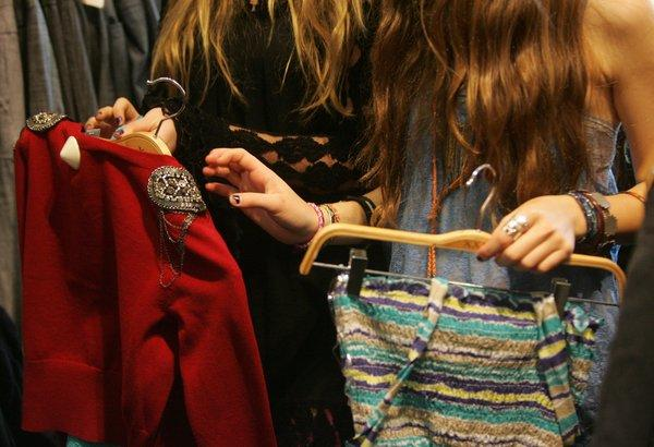 Shopping for fashion will be in focus on Teen Vogue's Back to School Saturday.