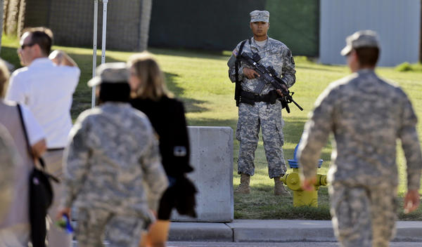 The court-martial of Maj. Nidal Malik Hasan, accused gunman in the massacre at Ft. Hood, has been held under tight security this week at the sprawling military base in central Texas.
