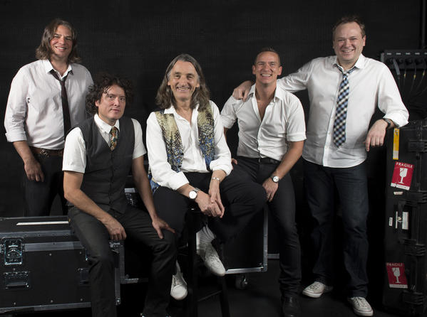 Roger Hodgson, third from left, of Supertramp fame, will close the Toyota Summer Concert Series at the OC Fair on Sunday..