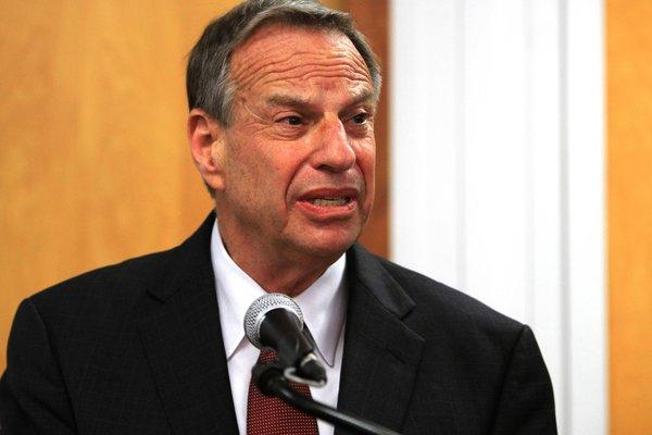 Mayor Bob Filner at a July 26 news conference announcing his plan to seek professional help for his sexual harassment issues.