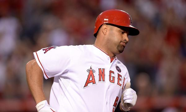 Angels slugger Albert Pujols denies he has ever taken performance-enhancing drugs.