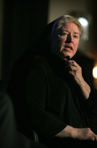 Supt. for the Archdiocese of Chicago, Sister Mary Paul McCaughey, at the Hyatt Regency in Chicago, March 5, 2012.