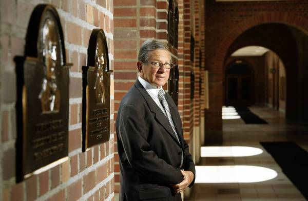 Stan Ross and partner Kenneth Leventhal went on to build Kenneth Leventhal & Co. into the ninth-largest accounting firm in the country. He's now chairman of the Lusk Center for Real Estate at USC, where he is shown.