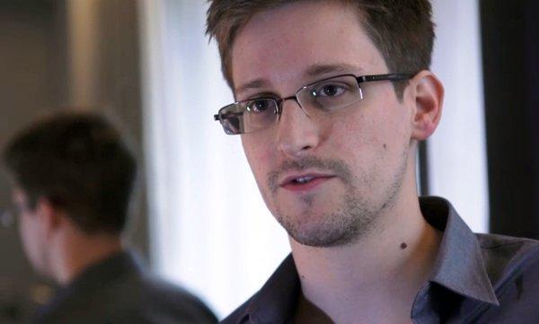 A still frame grab recorded on June 6 shows Edward Snowden speaking during an interview with The Guardian newspaper at an undisclosed location in Hong Kong.