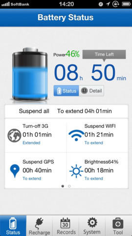 This iOS app requires a 'full-cycle charge' once a month to maintain a healthy battery.