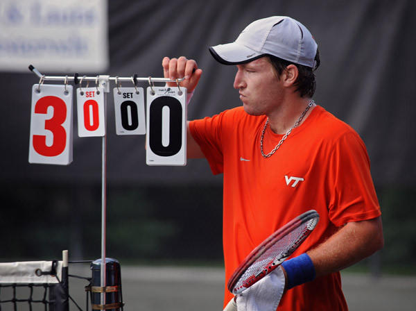 Patrick Daciek of Severna Park competes in the Chartwell Classic to prepare for the U.S. Open National Playoff.