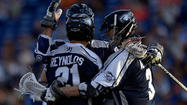 Bayhawks pull away from Hounds, 16-14, to earn second seed in MLL playoffs
