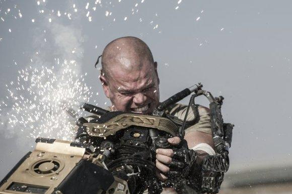 """Elysium"" beat ""We're the Millers,"" ""Planes"" and ""Percy Jackson: Sea of Monsters"" at the box office this weekend"
