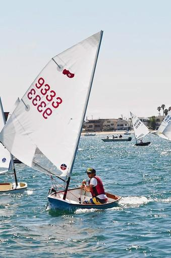 Derek Pickell, 15, out of Bahia Corinthian Yacht Club, won the INSA Junior National Championship Trophy.
