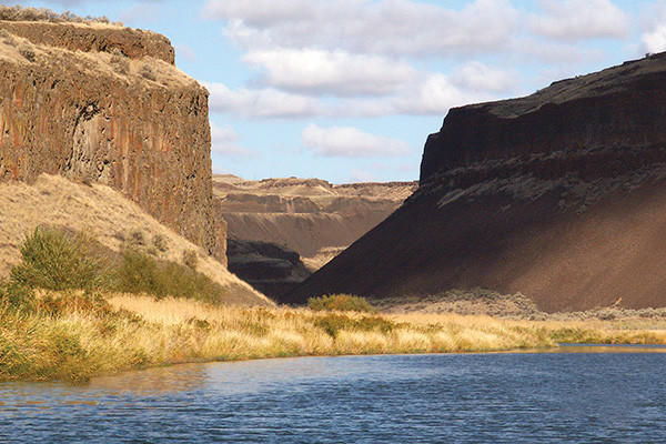 The scenic Snake River is on the itinerary of a seven-night cruise in the Pacific Northwest.