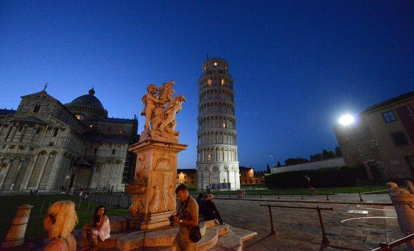Pisa, Italy, and its Leaning Tower are easily accessible in Virgin's Tuscany fly-and-drive package.