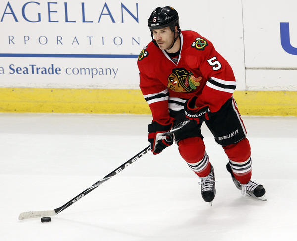 Former Blackhawks defenseman Steve Montador will play in the KHL.