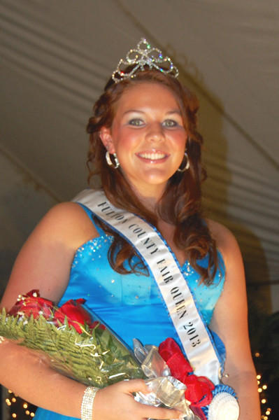 Sarah Hollinshead, 17, of Harrisonville, Pa., was named the Fulton County (Pa.) Fair Queen for 2013.
