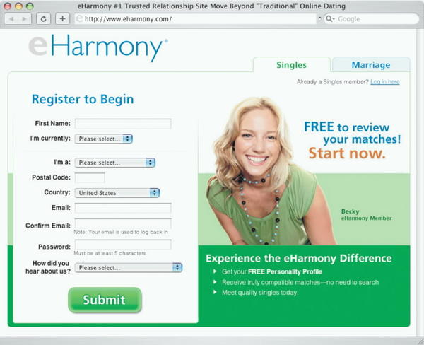 eHarmony.com? We can get more specific than that!