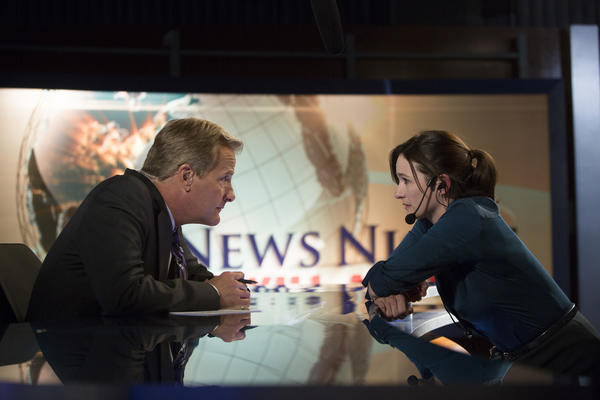 "Jeff Daniels and Emily Mortimer on ""The Newsroom."""