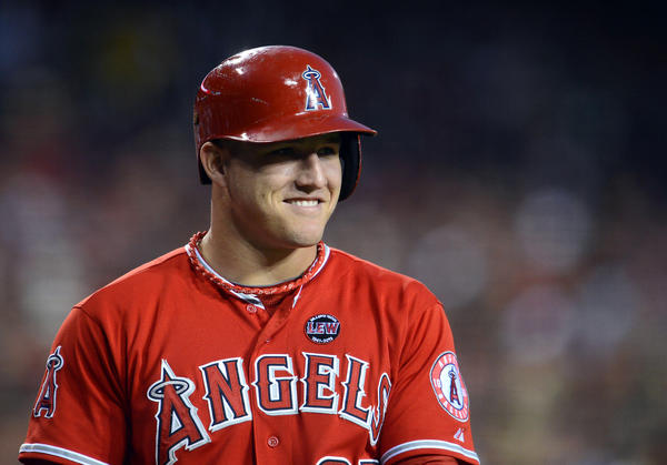 Los Angeles Angels center fielder Mike Trout says PED users should be banned for life.