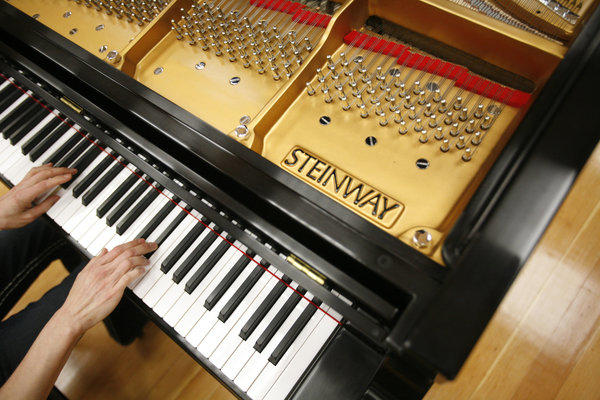 Steinway is in the midst of a bidding war between two financial firms.