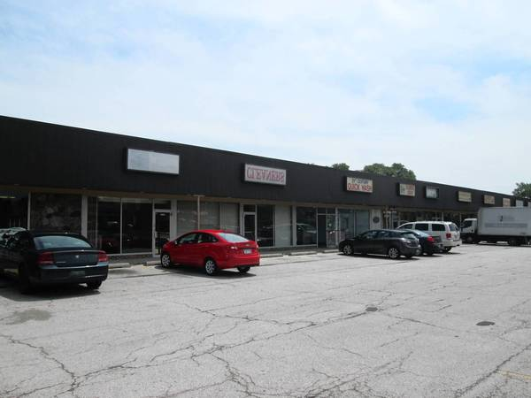 A strip mall owned by Darien will have to be remodeled or rebuilt.