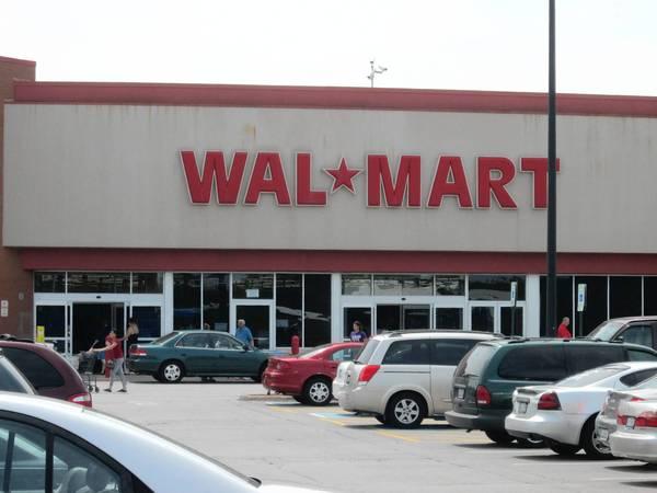 Construction on a Super Wal-Mart has begun in Darien.