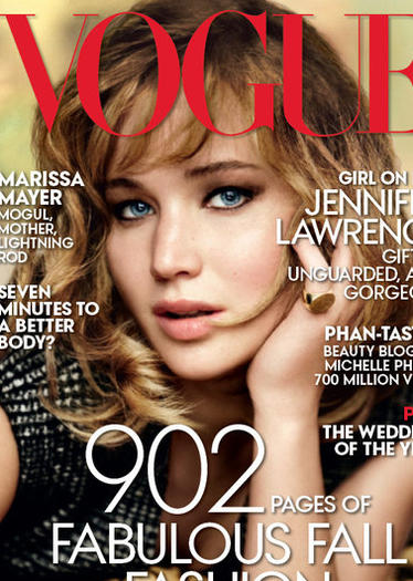 Jennifer Lawrence's Vogue September 2013 cover
