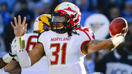Shawn Petty's time at QB with Terps has helped him transition back to LB