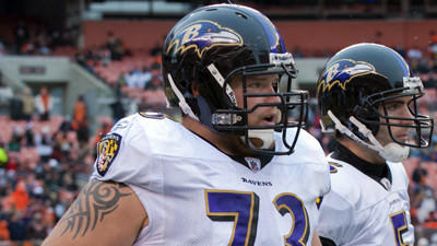 Marshal Yanda, Bernard Pierce return to practice, Dallas Clark …