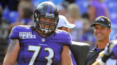 Ravens' Marshal Yanda happy to hit the field again
