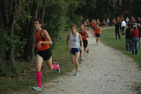 Lionello Bardina is a leader on Libertyville's cross country team.