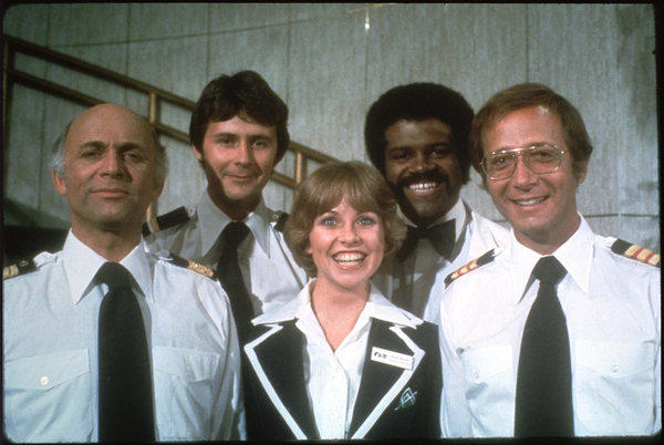 """The Love Boat"" starred, from left, Gavin MacLeod, Fred Grandy, Lauren Tewes, Ted Lange and Bernie Kopell."