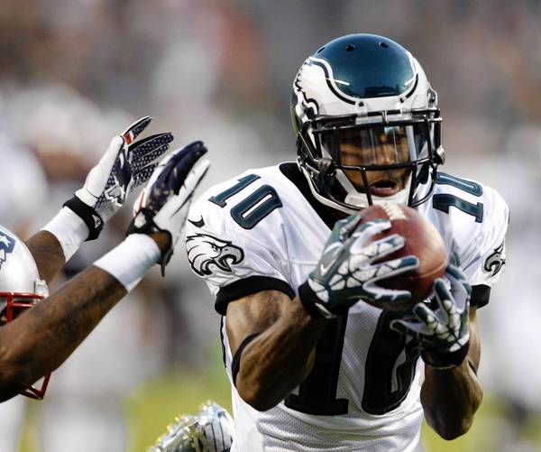 Eagles wide receiver DeSean Jackson is back to being the first-team punt returner after limited duty the past two seasons.