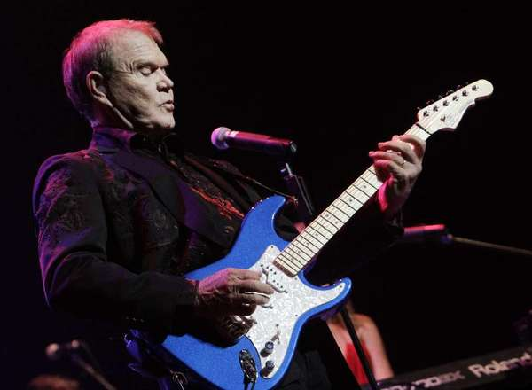 Glen Campbell performs as part of his farewell tour at Club Nokia on Oct. 6, 2011.