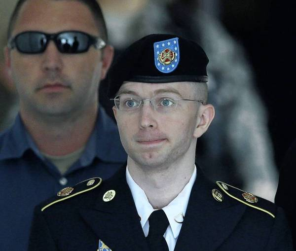 Army Pfc. Bradley Manning could face up to 90 years in prison after being convicted on espionage charges.