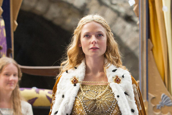 """Rebecca Ferguson in """"The White Queen."""""""