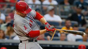 Mark Trumbo's struggles continue in Angels' 2-1 loss to Yankees