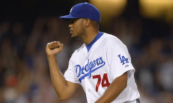 Dodgers closer Kenley Jansen has retired 32 of the last 33 batters he's faced.