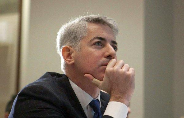 Bill Ackman's hedge fund might be the biggest investor in the troubled J.C. Penny chain, but he has resigned from the company's board after losing a key battle with other investors.