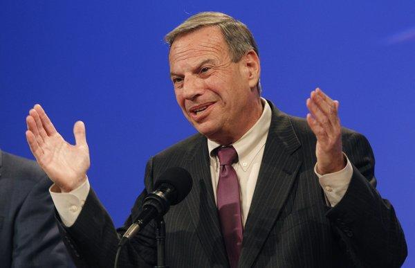 Mayor Bob Filner during last year's election. Elected as San Diego's first Democratic mayor in two decades, Filner is now under pressure from a recall movement started as women accused him of sexual misconduct.