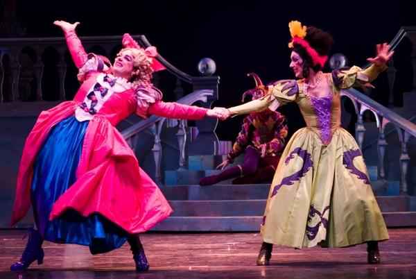Stepsisters' dance in 'Cinderella'