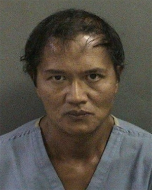 Roy Chi Wing Lung is suspected of stealing surgical equipment from the Fountain Valley Regional Hospital.