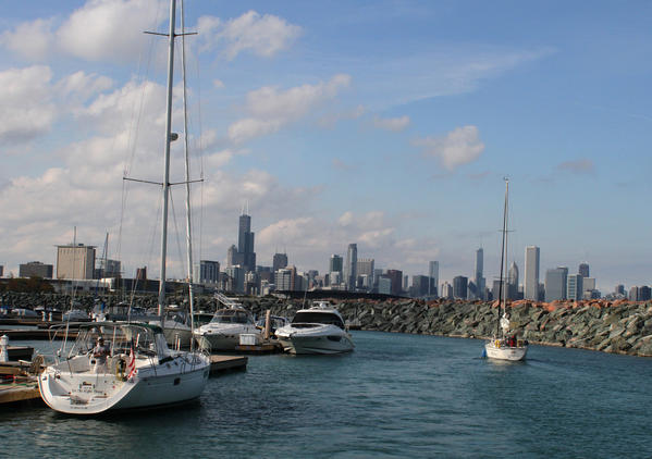 Chicago's 31st Street Harbor.