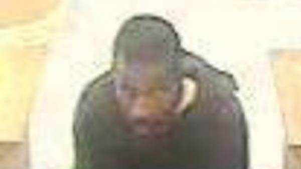 Suspect in Cole Taylor bank robbery in Bucktown on Aug. 13, 2013.