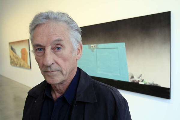 Artist Ed Ruscha in Los Angeles in 2011.