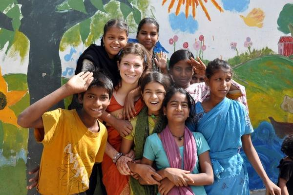 Highland Park native Azza Cohen spent her summer in Varanasi, India, where she is producing a documentary about Guria, a grassroots organization dedicated to halting sexual exploitation of girls and women, and providing educational and vocational alternatives to children in peril.