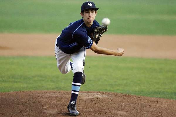 File Photo: Crescenta Valley High pitcher Brian Gadsby is an All-Area first-teamer as a sophomore.
