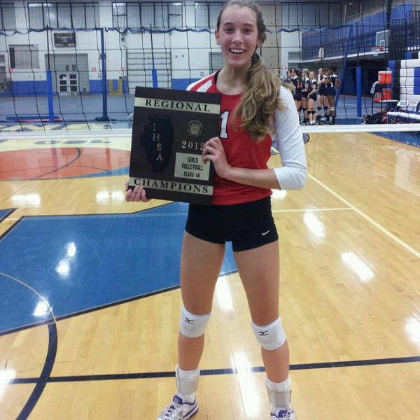 In her three years on the varsity volleyball team at Niles West, Olivia Rusek has earned a number of accolades.