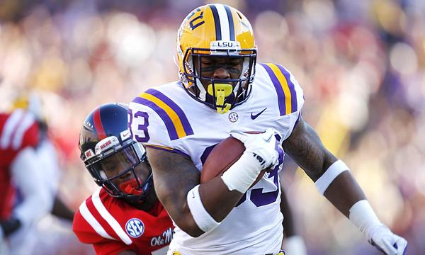 LSU running back Jeremy Hill figures to play a prominent role in the Tigers' SEC title aspirations — as long as he stays out of trouble.