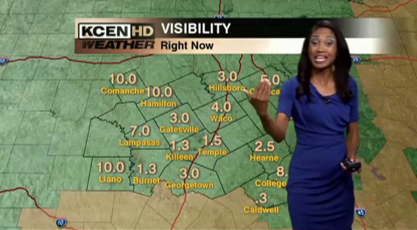 The newest member of WBAL-TV's weather team: Miri Marshall, from KCEN-TV in central Texas.