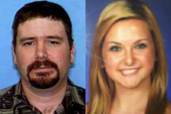 Photos provided by the San Diego Sheriff's Department of James Lee DiMaggio, 40, left, and Hannah Anderson, 16.