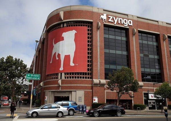 The Zynga headquarters in San Francisco.