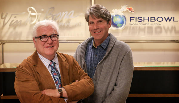 FishBowl Worldwide Media Chief Executive Bruce Gersh, right, has exited the production company he launched with TV veteran Vin Di Bona.
